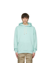 Acne Studios Green Oversized Patch Hoodie