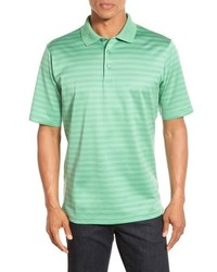 Mint Horizontal Striped Polo