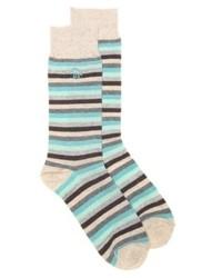 Original Penguin Fraser Stripe Dress Socks