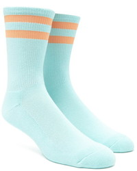 Forever 21 Stripe Crew Socks