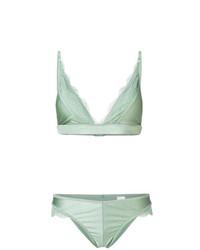 Zimmermann Lace Panelled Bikini