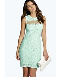 Boohoo Emmeline Lace Mini Dress