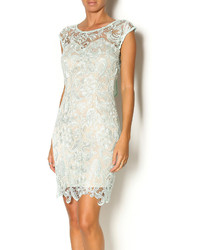 Manijn Mint Lace Sheath