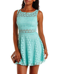 847a29fa5d Charlotte Russe Cap Sleeve Lace Skater Dress Out of stock · Charlotte Russe  Crochet Cut Out Skater Dress