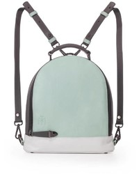 Martella bags mint leather backpack medium 3665731
