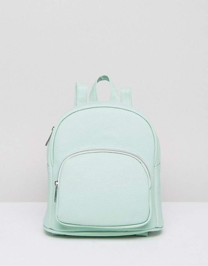 67bf10ae05cc ... Asos Mini Backpack With Front Pocket ...