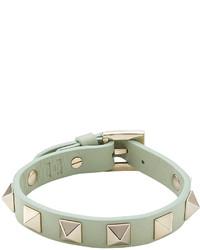 Valentino Small Rockstud Leather Bracelet