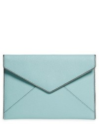 Leo envelope clutch green medium 4136463