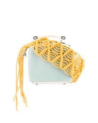 Marni Macram Strap Shoulder Bag