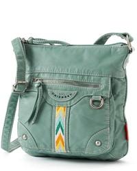 UNIONBAY Chevron Stripe Crossbody Bag
