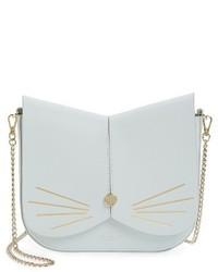 London cat leather crossbody bag pink medium 3654758