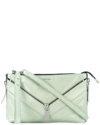 Diesel Triangular Zip Crossbody Bag