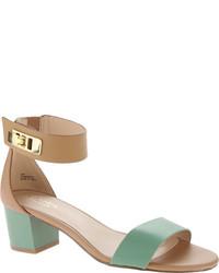 Charles David Glory Blushgold Leather Shoes