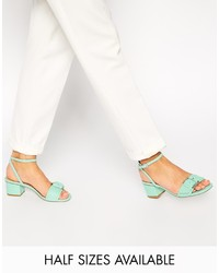 Asos Collection High Walk Heeled Sandals