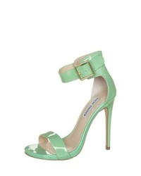 Steve Madden Marlenee High Heeled Sandals Green