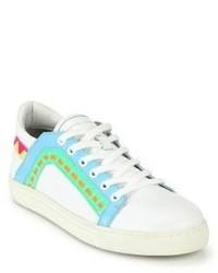 Sophia Webster Riko Leather Low Top Sneakers