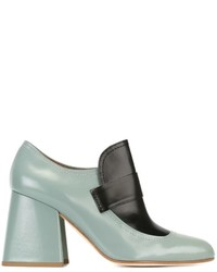 Marni Two Tone Loafer Pumps