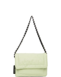 Marc Jacobs Green The Mini Pillow Bag