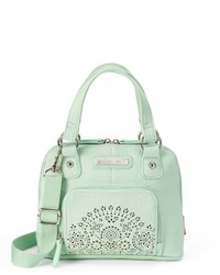 UNIONBAY Perforated Convertible Mini Dome Satchel