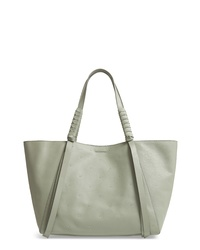 AllSaints Kathi Studded Leather Eastwest Tote