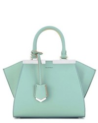 Fendi Mini 3jours Calfskin Leather Shopper
