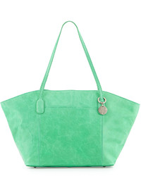 Hobo Patti Glossy Winged Tote Bag Mint
