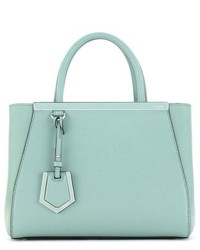 Fendi Petite 2jours Elite Leather Shopper