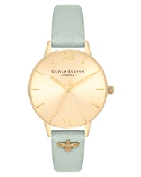 Olivia Burton Bee Leather Watch