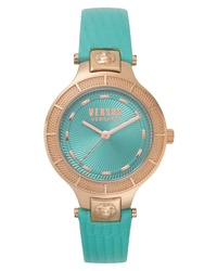 Versus Versace Claremont Leather Watch