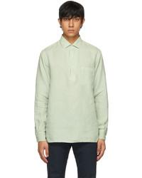 Loro Piana Green Andr Arizona Shirt