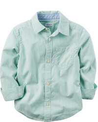 Mint Long Sleeve Shirt