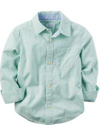 Mint Long Sleeve Shirt