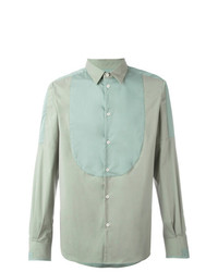 Paneled longsleeved shirt medium 7141221