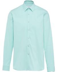 Prada Poplin Buttoned Shirt