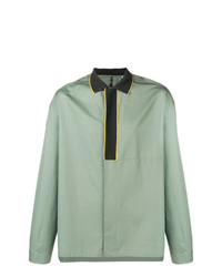 Oamc Ribbed Collar Shirt