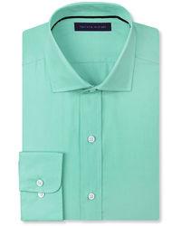 Tommy Hilfiger Solid Poplin Dress Shirt