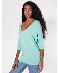 American apparel viscose dolman sleeve t medium 322457