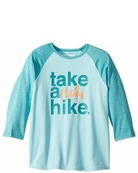 Columbia Kids Outdoor Elets 34 Sleeve Shirt Girls T Shirt