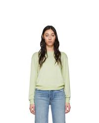 Rag and Bone Green Avryl Long Sleeve T Shirt