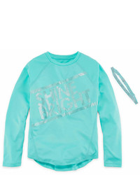 Xersion Performance Long Sleeve Top With Headband Girls 7 16 And Plus