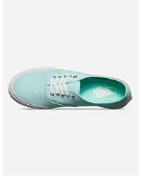 0786c28bcb ... Vans Brushed Twill Authentic Slim Shoes ...