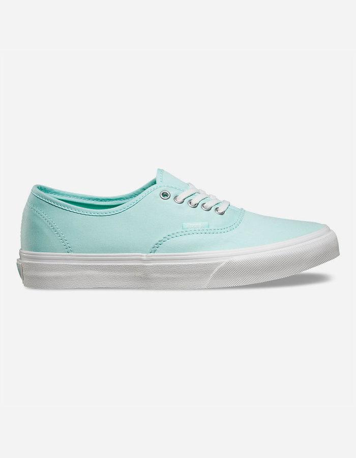 0786c28bcb ... Vans Brushed Twill Authentic Slim Shoes ...
