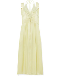 Stella McCartney Med Silk Satin Midi Dress