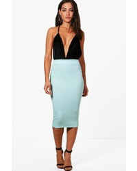 Willow pastel bandage midi skirt medium 6860906