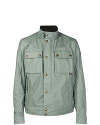 Mint Military Jacket
