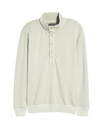 Goodlife Sun Faded Quarter Button Cotton Pullover