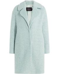 Tara Jarmon Coat With Virgin Wool And Mohair