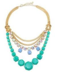 ABS by Allen Schwartz Jewelry Wild Child Tiered Multi Row Necklace
