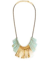 Dailylook Sibilia Marimba Necklace In Mint