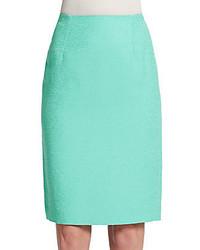 Cotton blend pencil skirt medium 369154